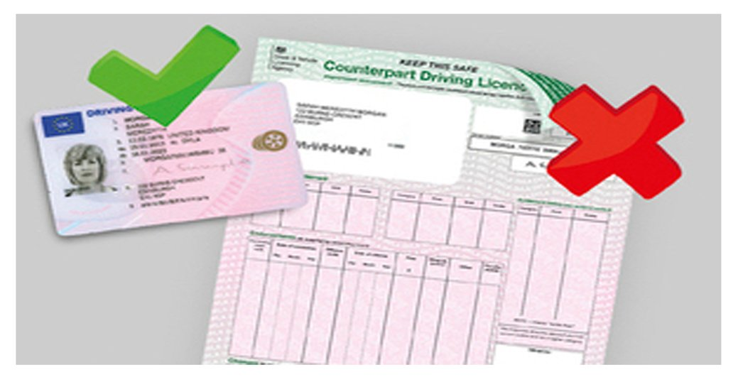 Counterpart Driving Licence proof of address